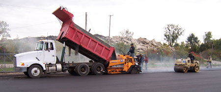 Contact Asphalt Management Inc in Flushing, Michigan - Call 810-659-5400