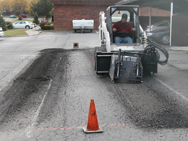Mill & Replace Pavement Repair