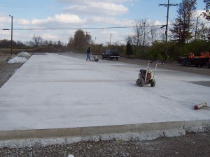 Parking Lot Concrete