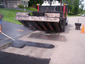 Infrared Asphalt Repair