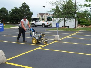 pavement marking & line painting