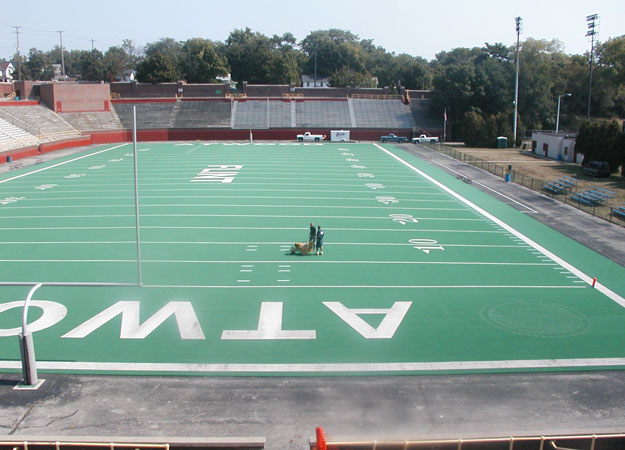Striping at Atwood in Flint