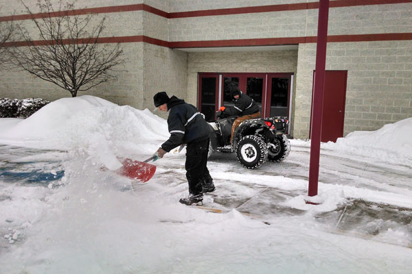 Snow Shoveling in Flint